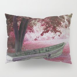 Boat without water Pillow Sham