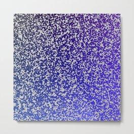 Purple ombre zest space theme Metal Print