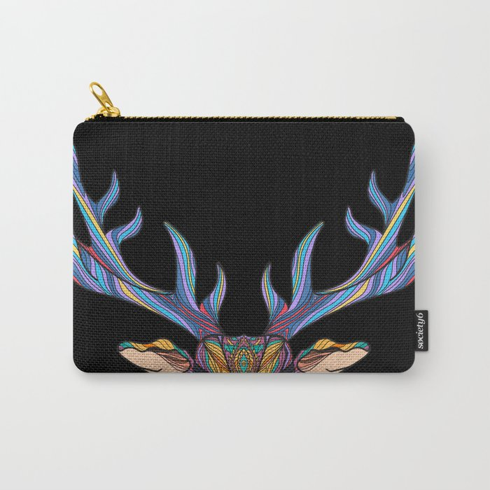 Deer Park- MI on Black Carry-All Pouch