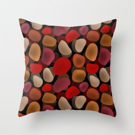 Abstract pattern . Sea stones .2 . Throw Pillow