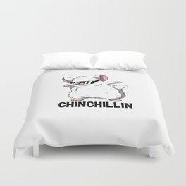 Dabbing Chinchillin T Shirt Chinchilla Cute Pet Duvet Cover