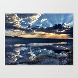 SALT FLATS | UT Canvas Print