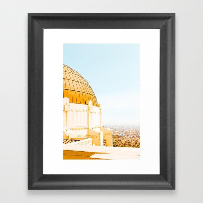 Griffith Observatory Gerahmter Kunstdruck