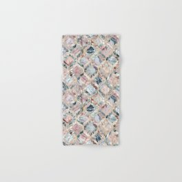 Marble Moroccan Tile Pattern Hand & Bath Towel