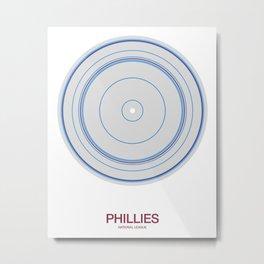 Philadelphia rings Metal Print