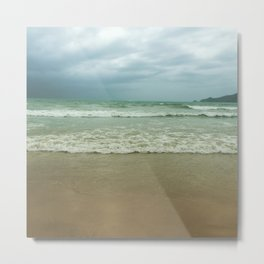 Ocean waves - Beaches Metal Print