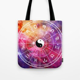 We are one with the universe Tote Bag