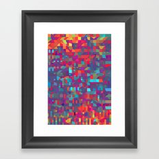 run through with the sounds Framed Art Print