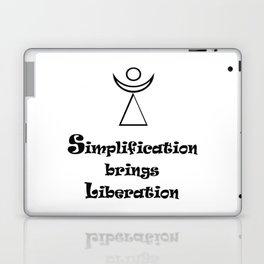 Simplification brings Liberation Laptop & iPad Skin