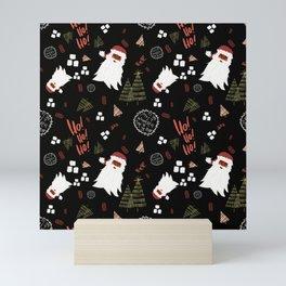 Hey Santa! Mini Art Print