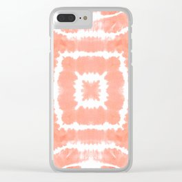 WILD AND FREE - BLOOMING DAHLIA Clear iPhone Case