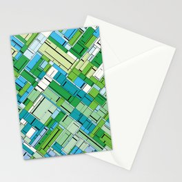 The Burning Rainbow Bridge 144 Stationery Cards