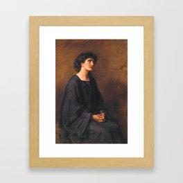 Sir John Everett Millais, Bt 1829–1896  A Disciple Framed Art Print