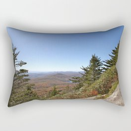 Pine Trees in an alpine landscape Rectangular Pillow