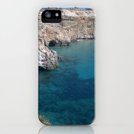 Clear water in paradise - Greg Katz iPhone Case