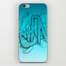 Lost Angeles iPhone Skin