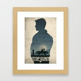 Top Gun Framed Art Print