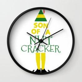 Son of a nutcracker! Wall Clock