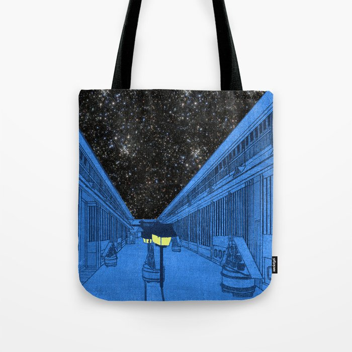 Life on the outside Tote Bag