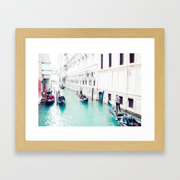 Venice Aqua I Fine Art Print Framed Art Print