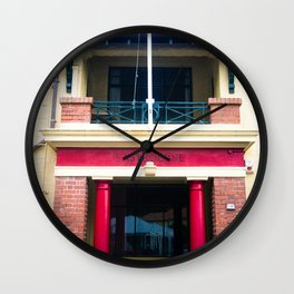 Eastbourne Village Building Wall Clock