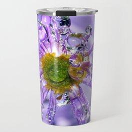 flower bling Travel Mug