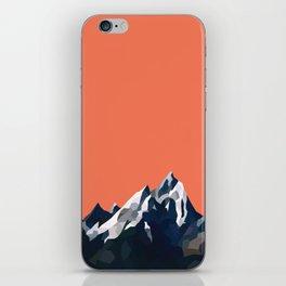 Geo Mountain Range (Part 1) iPhone Skin