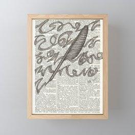 Brainstorming Framed Mini Art Print