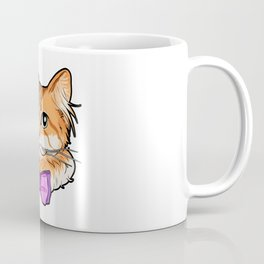 Norwegian Forest cat face kitty funny gift present Coffee Mug