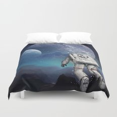 Searching Home Duvet Cover