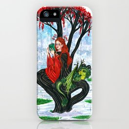 The Rowan tree sign iPhone Case