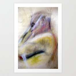 Klooster Series: Male Nude Groeneveld Art Print