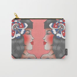 Moth Pendant Girl Carry-All Pouch
