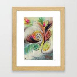 MindCloud Framed Art Print