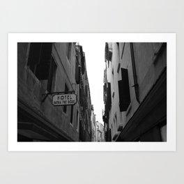 Hotel Patria Tre Rose - Venice, Italy Art Print