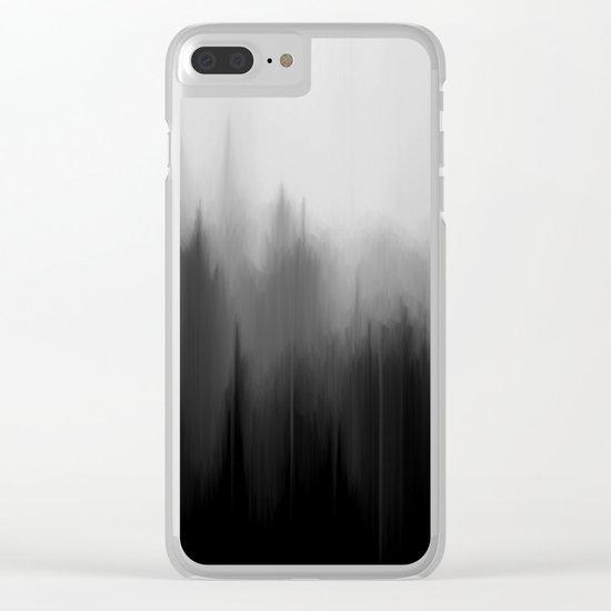 Fog Dream Clear iPhone Case