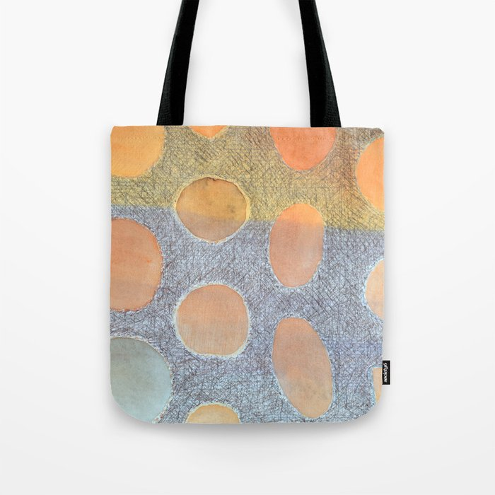 Illuminated Dots Tote Bag
