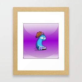 Pendrive  animated Framed Art Print