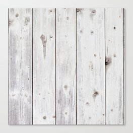 Recycled Wood Panels Canvas Print