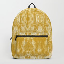 Golden Tie-Dye / Sunshine Abstraction Backpack