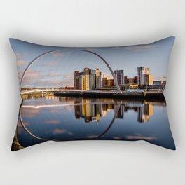 Millennium Bridge Gateshead Rectangular Pillow