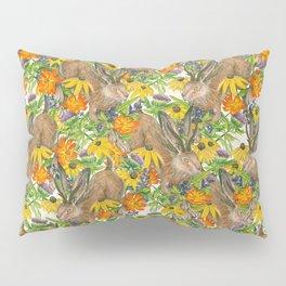 Jackalope Wildflower Florals Pillow Sham