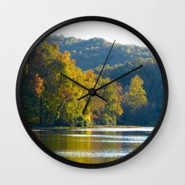 Autumn Sunshine Wall Clock