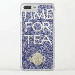 Time For Tea 2017 Clear iPhone Case