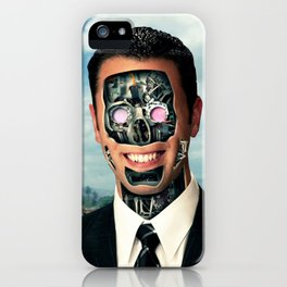 Manchine iPhone Case