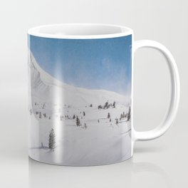 Snowy Mount Hood Coffee Mug