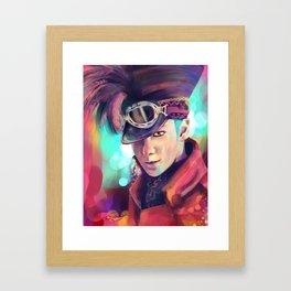 Fantastic Hat Framed Art Print