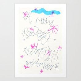 wishful thinking. spell 3. Art Print