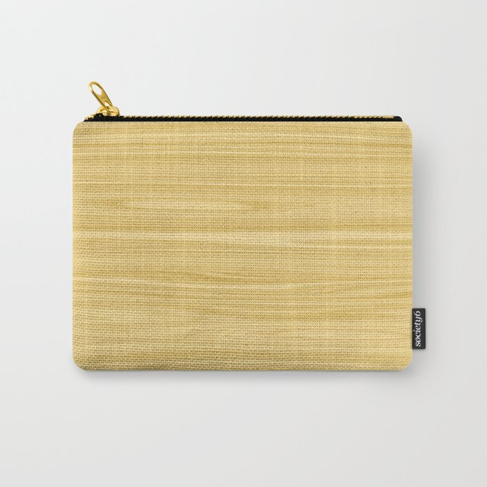 Ash Wood Texture Carry-All Pouch