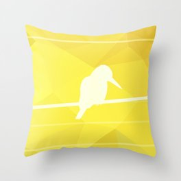 Still Lost in Thought Throw Pillow